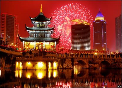 Fireworks Chinese New Year Image