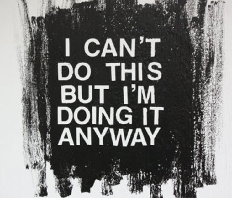 Fitness Sayings i can't do this but i'm doing it anyway