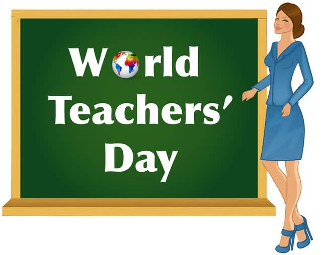 For Ma'am Happy World Teacher's Day Beautiful Wishes
