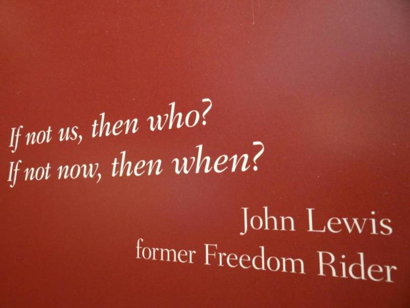Freedom sayings if not us then who if not now then when