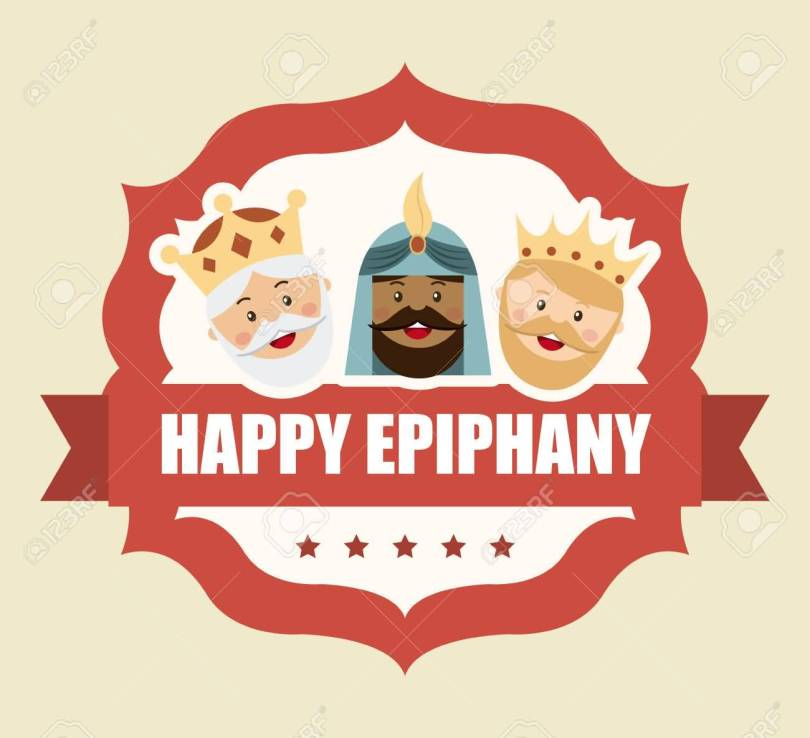 Friends Happy Epiphany Wishes Image