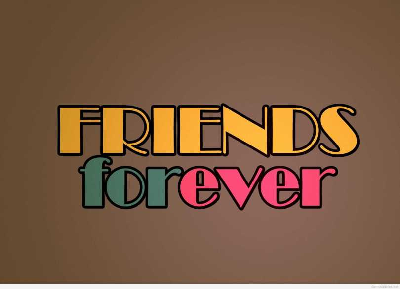 Friendship Day Wishes Friends For Ever Wallpaper