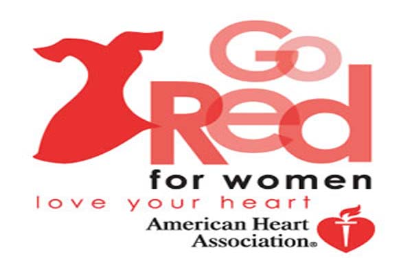 Go Red For Women Love You Heart National Wear Red Day