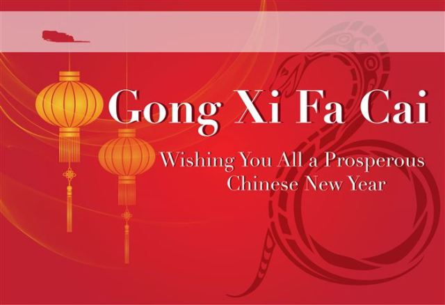 Gong Xi Fa Cai Wishing You All A Prosperous Chinese New Year Wishes Image