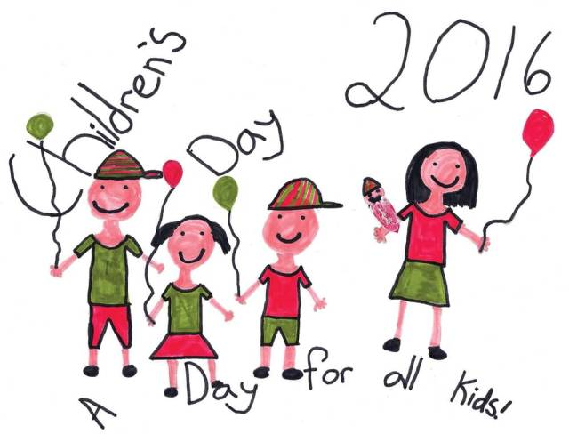 Handmade Happy Children's Day Wishes Image