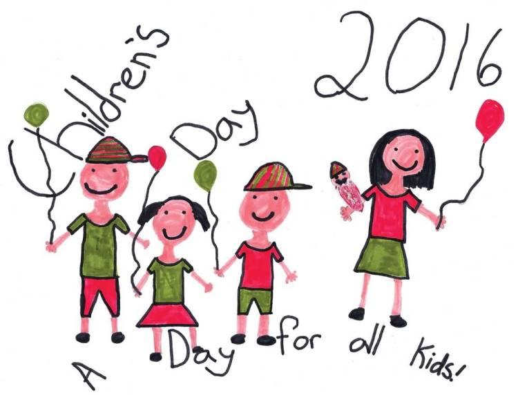 Handmade Happy Children's Day Wishes Image