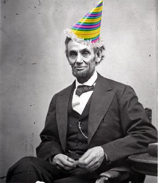 Happy Birthday President Abraham Lincoln Funny Meme