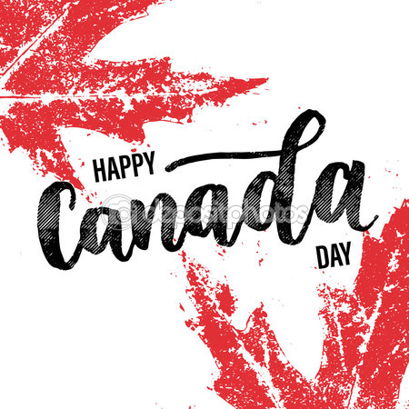 Happy Canada Day Greeting Card Picture