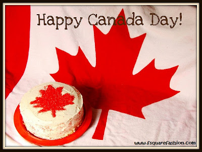 Happy Canada Day To You Cake Image