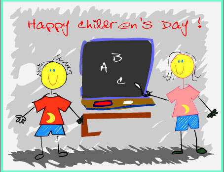 Happy Children's Day Message Picture