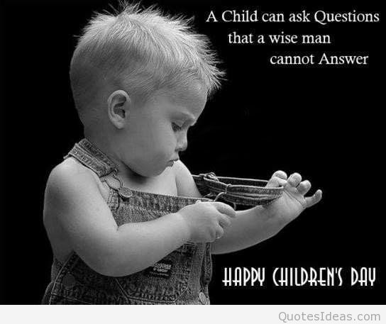 Happy Childrens Day Wishes Greetings Image