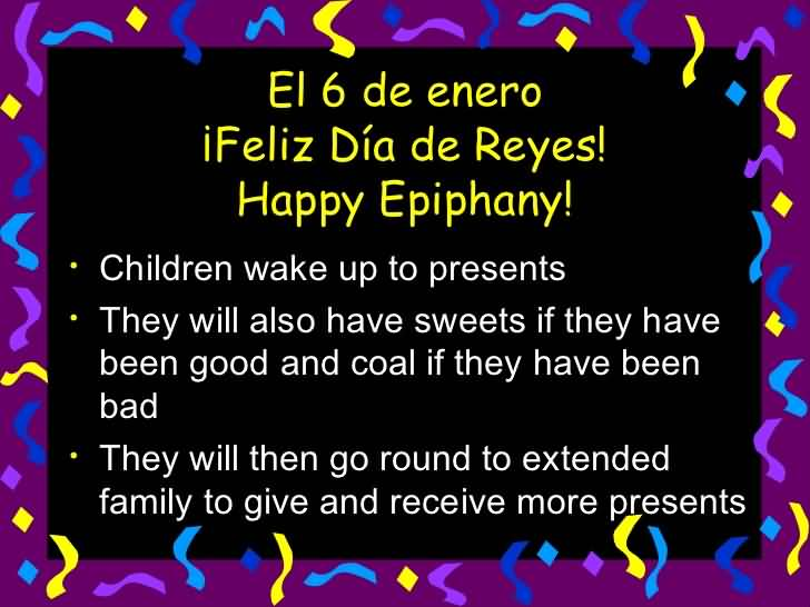 Happy Epiphany Wishes Message