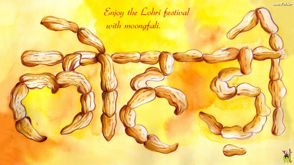 Happy Lohri Enjoy Festival With Moongfali