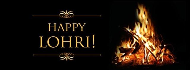 Happy Lohri Fire Wallpaper