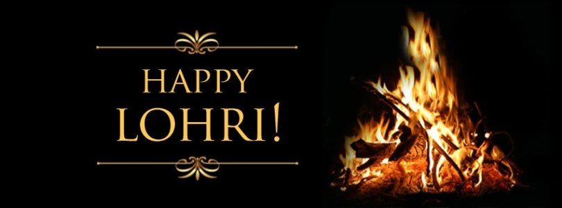 Happy Lohri Fire Wallpaper