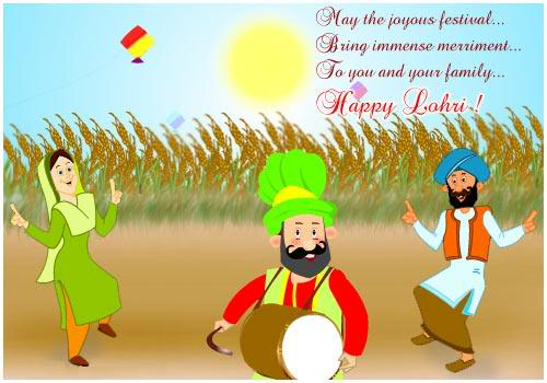Happy Lohri Wishes For Friends Message For Whatsapp