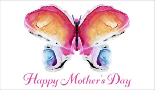 Happy Mother's Day Art Form Son Wishes Image