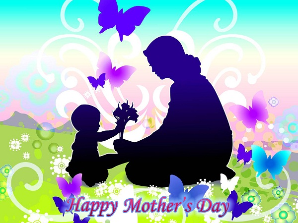 Happy Mother's Day Greetings Form Baby Son