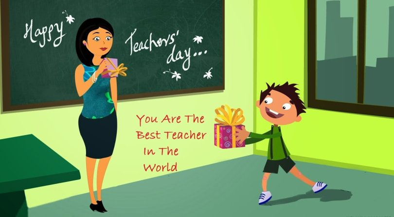 Happy Teacher's Day Wishes From Student Image
