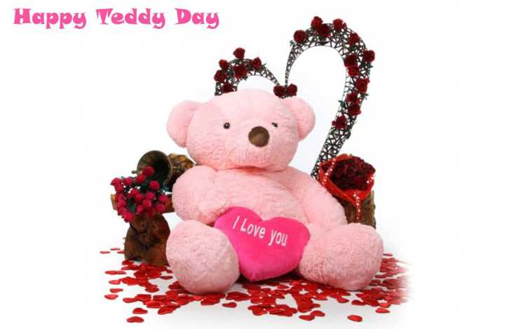 Happy Teddy Day Image I Love You