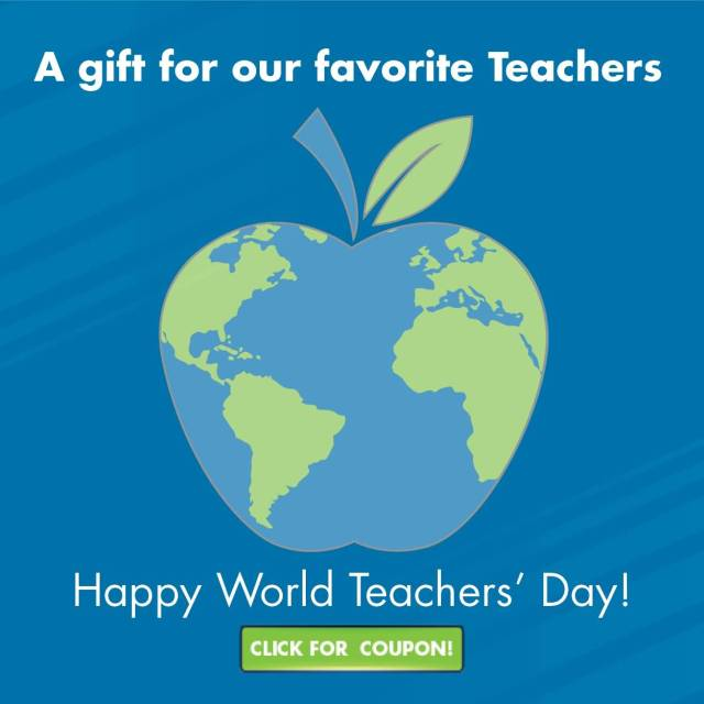 Happy World Teacher's Day Beautiful Wishes Image