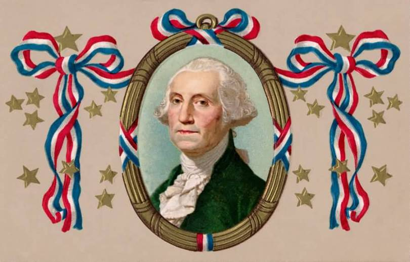 Have A Great Birthday Of Washington Wishes Card Image