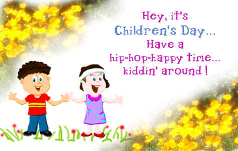 Have A Hip Hop Children's Day Wishes Image