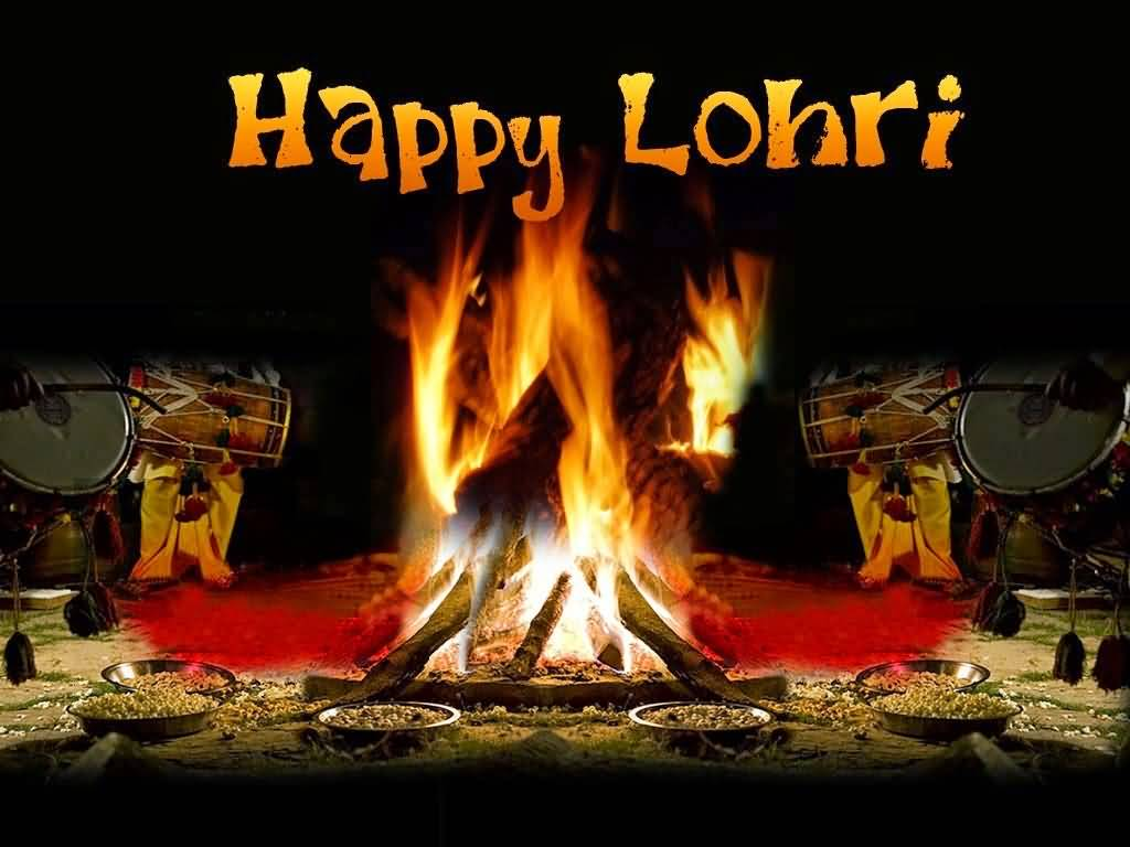 Have A Warm Happy Lohri Greetings Image