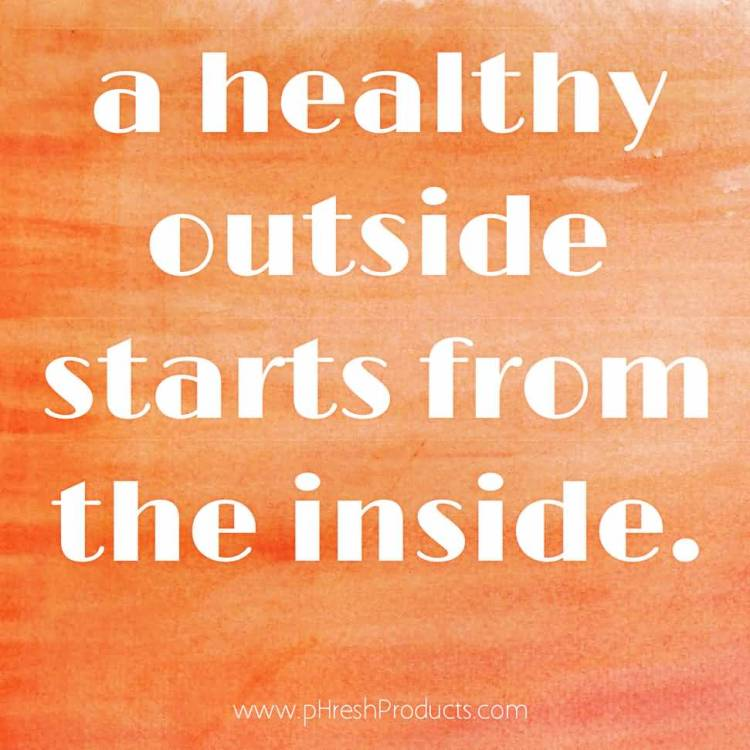 Health Quotes a healthy outside starts from the inside