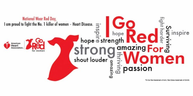 I Go Red National Wear Red Day Image