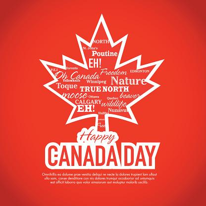I Love Canada Happy Canada Day Image