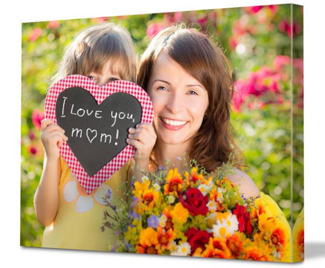 I Love Mom Happy Mother's Day Wishes From Daughter Image