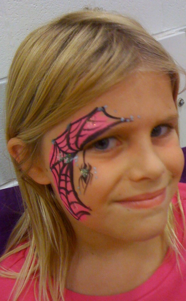 Innovative Little Girls Face Tattoo Fashion For Girls