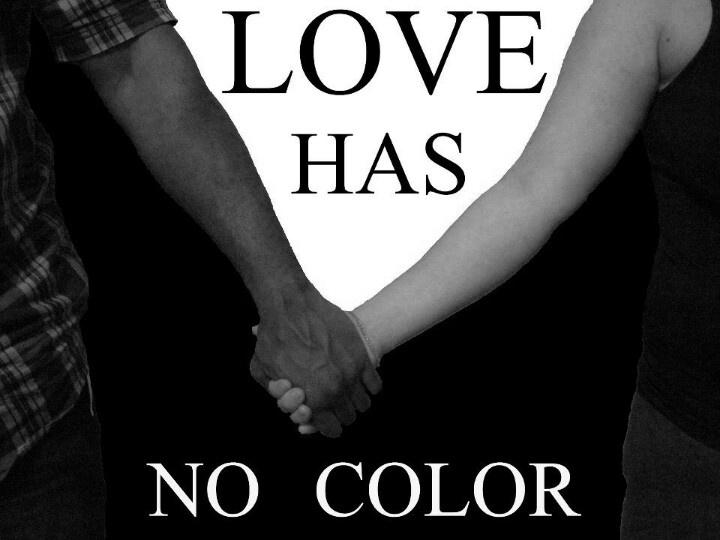 Interracial Love Quotes Love has no color