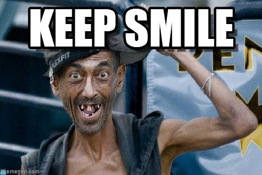 Keep Smile Meme