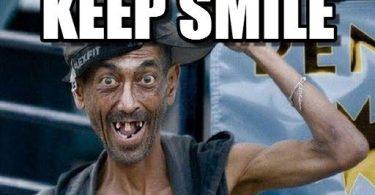 Keep Smile Meme