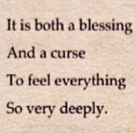 Keyshia Cole Quotes It is both a blessing and a curse to feel everything so very deeply