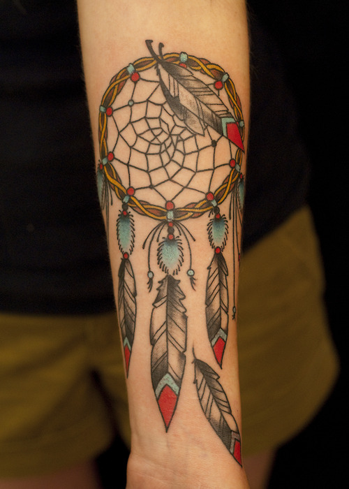 Latest Dream Catcher Tattoo For Girls Only
