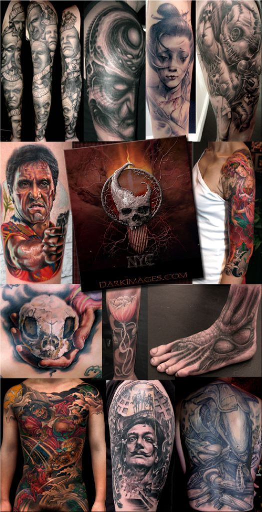 Maori Horror Tattoo Pictures For Boys