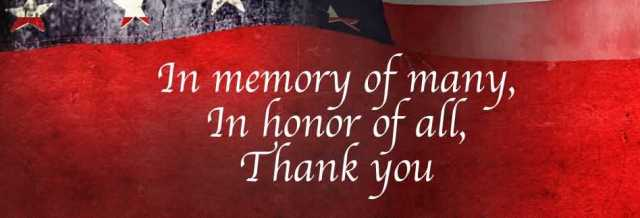 Memorial Day Facebook Cover Picture