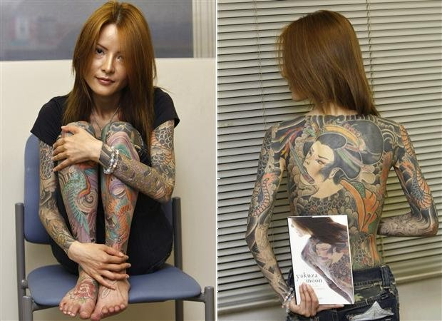 Mind Blowing Full Body Tattoo For Girls