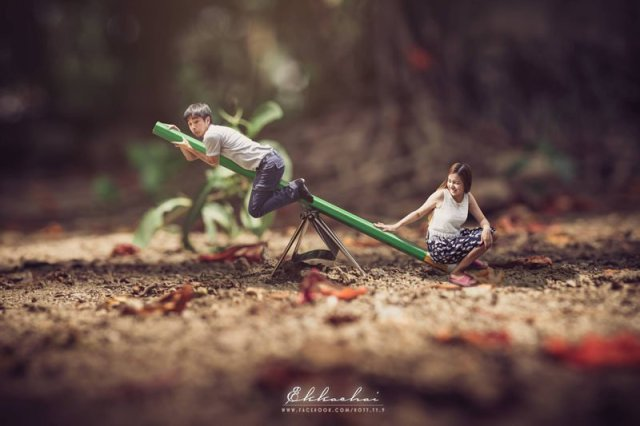 Miniature Wedding Photography 003