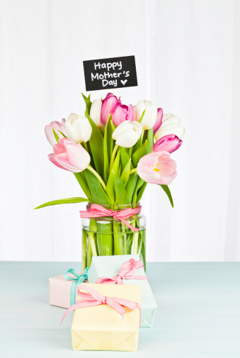 Mother's Day Flower's For Mom Wishes Image