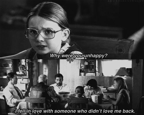 Movies Quotes Why Were You Happy I Feel In Love With Someone