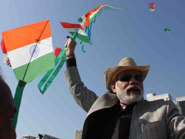 Narendra Modi fly kites Happy Basant Panchami Greetings Images