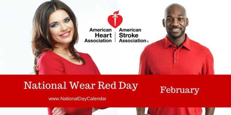 National Wear Red Day Image