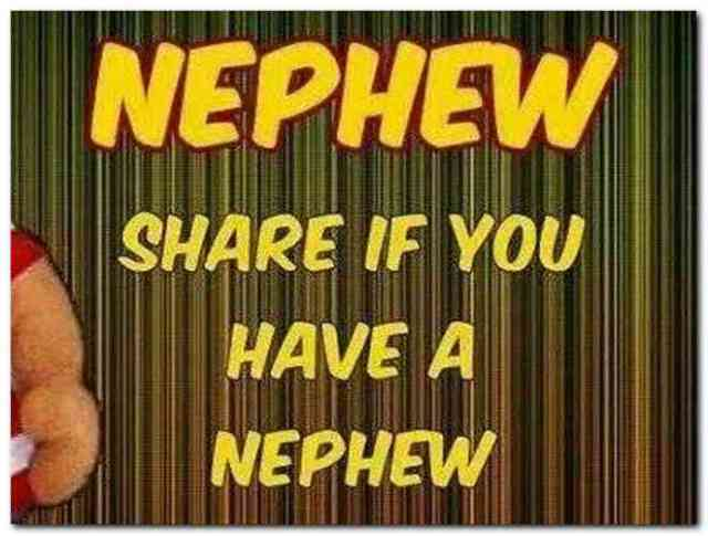 Nephew Quotes Nephew Share If You Have A Nephew