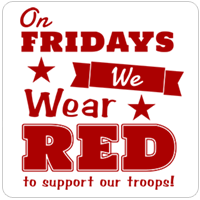 On Friday We Wear Red National Wear Red Day