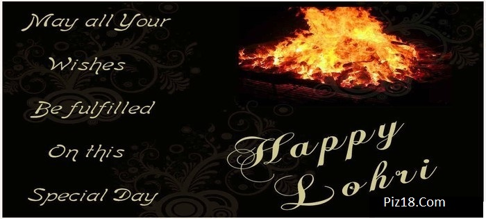 On This Special Day Happy Lohri Wishes Image