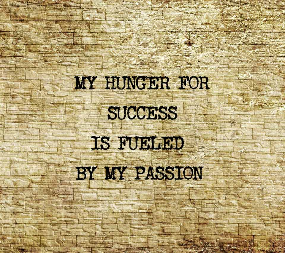 Hunger Quotes Classy Passion Quotes My Hunger For Success Is Fueledmy Passion